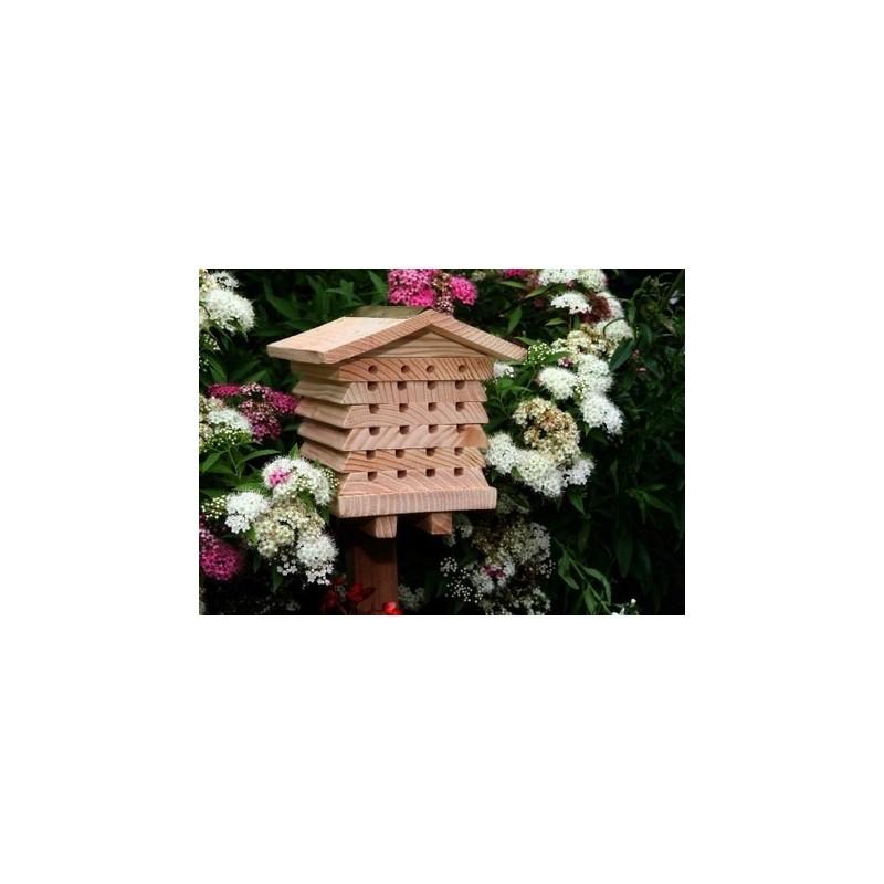 ruche pour abeilles solitaires la belle caille de bl. Black Bedroom Furniture Sets. Home Design Ideas