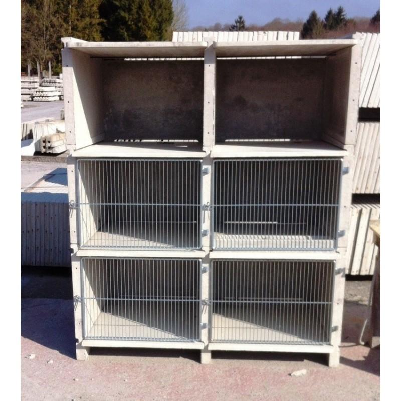 Clapier b ton lapins - Clapier lapin beton ...