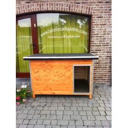 niches en bois pour chiens la belle caille de bl. Black Bedroom Furniture Sets. Home Design Ideas