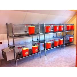 Cages lapins - Accessoires