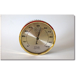 Hygrometer broedmachine