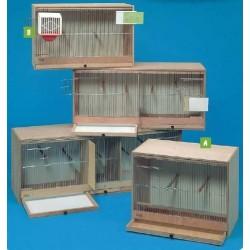 Cages d'élevage en bois