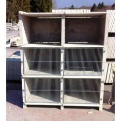 cage en béton pour lapins