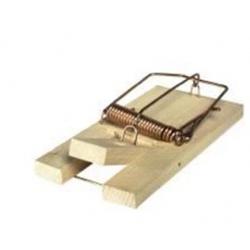 Piège rats en bois
