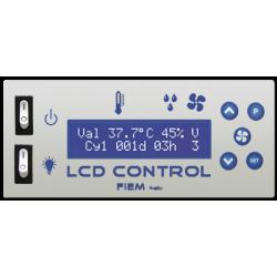 Mini Led : Affichage et contrôle de la température avec display à 3 chiffres et points décimaux de séparation.