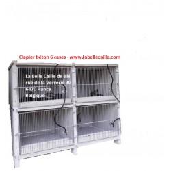 Clapier béton 4 cases