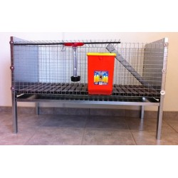 Cage lapins 1 compartiment
