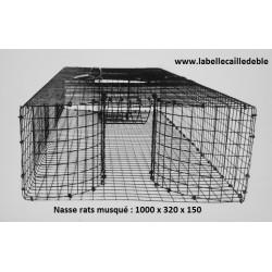 Masse pour rats musqués
