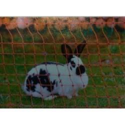Cloture pour lapins en PVC