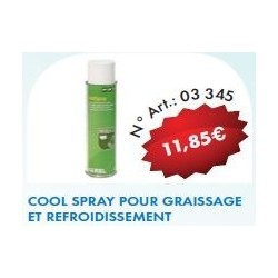 Cool spray tondeuse